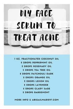 I am going to have to do some research into this DIY Acne Serum