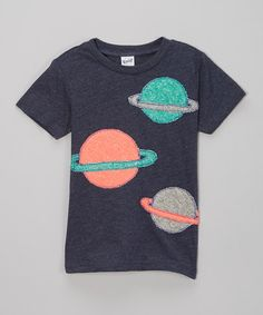 Another great find on #zulily! Navy Planets Tee - Infant, Toddler & Boys by little bits #zulilyfinds