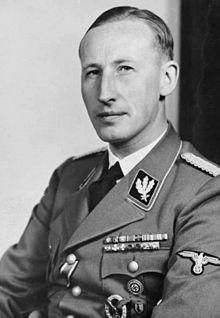 Reinhard Heydrich – Leiter des Reichssicherheitshauptamtes (RSHA), einer Unterabteilung der SS