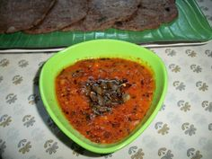 YUMMY TUMMY: Spicy & Tangy Red Chilli & Garlic Chutney – Quick & Instant Chutney / Combo with Dosa or Idli