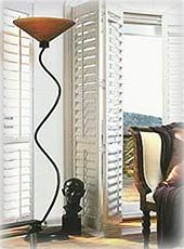 Palm Beach™ custom shutters combine the best of both worlds: attractive good looks and low maintenance. You can enjoy the elegant appearance. Teds Woodworking, Ambiance, Custom Shutters, Lamp, Shades Blinds, Woodworking, Woodworking Projects, Home Decor, Window Shades