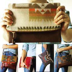 Searching for your next amazing #fall accessory? Search no more. @crtdbeautifully just added her wool #Pendleton bags to the website! #CBandPumps #ShopCLT #StyleBlogger #ShopLocal #ShopSmall #Style #BeTrendly #CLTblogger #FashionBlogger #FallFashion #Fashion #Wool #StreetStyle #MustHave #boho #bohoglam #gypset #bohemian #CLT #accessories #handbag #handmade