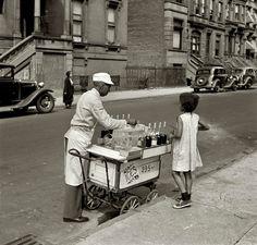 New York Summer, by Jack Allison, 1938 [1280 × 1221] - Imgur