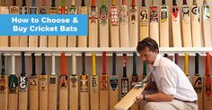 How to Choose and Buy Cricket Bats. Damroobox.com blog. #cricketbat #cricket #sports #game #batonline #shoponline