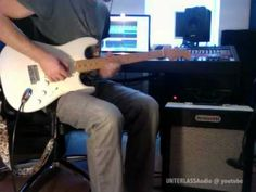 #1 Brunetti Singleman 16 & Fender Eric Johnson Stratocaster clean