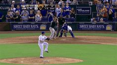 #Royals Jarrod Dyson catches final out, does backflip to celebrate [GIF]: