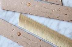 Brass Ruler by Magdalena Tekieli Design Ruler, Brass, Love, Design, Shop, Products, Amor, Gadget