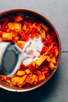 Yellow Pumpkin Curry / Minimalist Baker