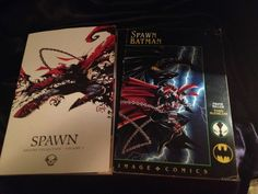 Spawn Origins vol 5 and Batman/Spawn. Image Softcover Graphic Novels