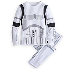 Disney Stormtrooper Deluxe PJ Pal for Boys | Disney StoreStormtrooper Deluxe PJ Pal for Boys - A long day of defending the Empire leaves you exhausted. Your little Imperial pal can suit-up for sleepy time in this comfy all-cotton Stormtrooper Deluxe PJ Pal and dream of starry skies sans rebel ships.