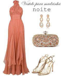 Madrinhas de casamento: Vestido para madrinha noite