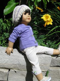 American Girl Doll  Sweet Violet by 123MULBERRYSTREET on Etsy, $14.00