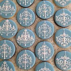 Chandelier cookies