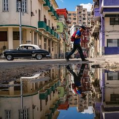 """75.7k Likes, 429 Comments - National Geographic Travel (@natgeotravel) on Instagram: """"Photo @pedromcbride // Crumbling Reflections: Much has changed in Cuba over the 17 years I have…"""""""