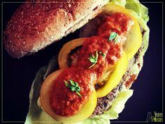 Le vege burger de Mary aux lentilles