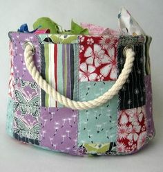 Scrap Bucket Basket Pattern