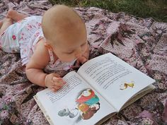 Never too early to enjoy books!