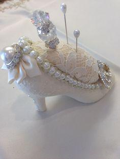 Bling Shoe Pin Cushion