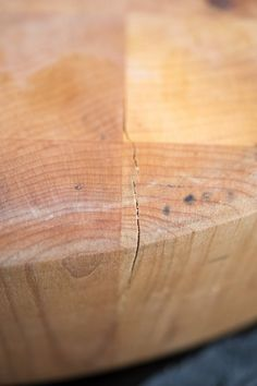 How To Repair Small Cracks In A Butcher Block Or Cutting Board — Projects From