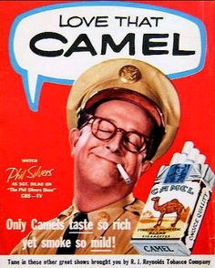 Phil Silvers for Camels