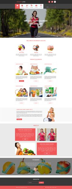 Sell365's Weight Loss Template. One of the best Website Builder in India. Design and customize your own website with our free website templates.