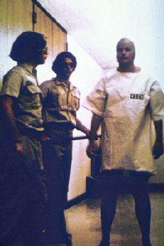 28 Close-up of prisoner with uniform