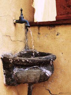 Outdoor Sink, Casale Di Valle, Vinci Italy