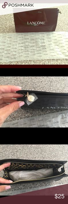"""NEW Lancôme Cosmetic Case / Makeup Bag New Lancôme Cosmetic Case / Makeup Bag. 8"""" wide by 5 1/2"""" long. Lancome Bags Cosmetic Bags & Cases"""