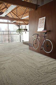 Interface Carpet:  UR501 in Herringbone pattern