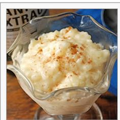 Vanilla Rice Pudding: The best there's ever bean: King Arthur Flour – Baking Banter Slow Cooker Rice Pudding, Rice Pudding Recipes, Creamy Rice Pudding, Rice Cooker Recipes, Slow Cooker Desserts, Cooking Recipes, Rice Puddings, Rice Recipes, Rice Pudding No Egg