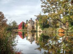#MySundayPhoto this week is the beautiful #ScotneyCastle surrounded by its moat  #castle #beautiful #history #medieval #sky #england #hdr #clouds #hdrphotography #architecture #hdr_lovers #hdrphoto #nationaltrust