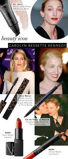 Beauty Icon: Carolyn Bessette Kennedy | www.theglitterguide.com