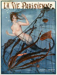 Illustration by George Leonnec For La Vie Parisienne 1921