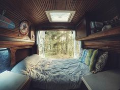 "6,024 Likes, 40 Comments - vanlife by #vanlifers (@vanlifers) on Instagram: """"Forest calling "" Thanks to @van_and_waves for sharing this photo with us! #Vanlifers @Vanlifers .…"""