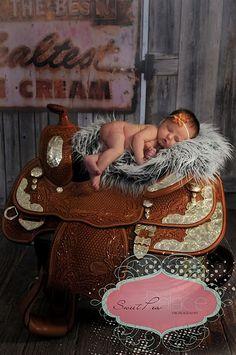 Littlest cowgirl!