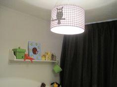 Lamp met uiltje voor de babykamer