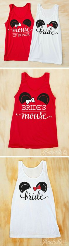 If I have a Disney theme wedding than yes I would have shirts like this! Long ways to go until I get married