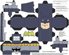 Batman Cubee by TheFlyingDachshund