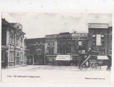 The Broadway Wimbledon c 1902 Merton Library Repro Postcard 852a