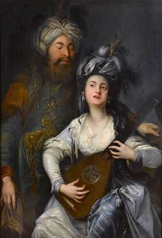 Anton Hickel (1750-1798) - Roxelane and the Sultan