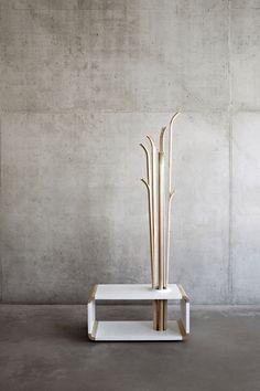 Tilia Coat Hanger by Alicja Prussakowska