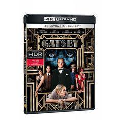 Blu-ray Velký Gatsby, UHD + BD, CZ dabing | Elpéčko - Predaj vinylových LP platní, hudobných CD a Blu-ray filmov Gatsby