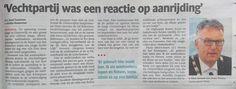 Ruzie met #asielzoekers Oisterwijk gevolg van opzettelijke aanrijding en pesterijen. Tweet dat dan ook rond. #PVV