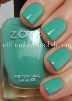 Let them have Polish!: Zoya Beach Collection Swactches  Wednesday