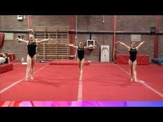 Developing the Illusion Turn - gymnastics - YouTube