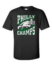 Super Bowl 52 LII Champions Philadelphia Eagles T Shirt Adult Sizes SM-3XL Var.