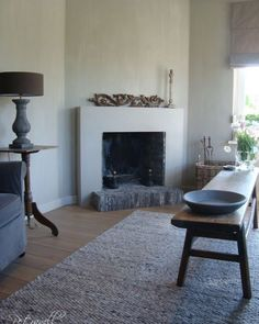 ○ neutral home nirvana ○ hearth Simple Fireplace, Open Fireplace, Fireplace Design, Fireplace Mantels, Corner Fireplaces, Home And Living, Living Room, Wabi Sabi, Home Remodeling