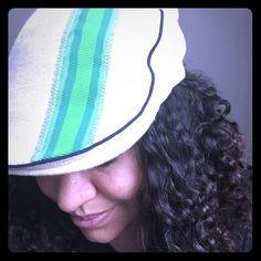 Kangol horizontal stripe cap I love love love a woman in a Kangol b76988435a