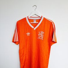"Box 2 Box Football on Instagram: ""AVAILABLE NOW. Holland - 1985/88. This @adidasoriginals classic is now in the shop and looking for a new home. It's payday, treat yourself. Available here: www.box2boxfootball.com. #holland #adidas #adidasoriginals #cultkits #box2boxfootball #shop #footballshirt #soccerjersey #footballdesign #soccerdesign #footballculture #soccerculture #design #fashion"""