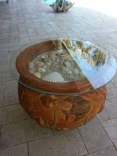 Easy Patio Table